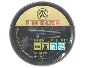 RWS R10 Match Pellets